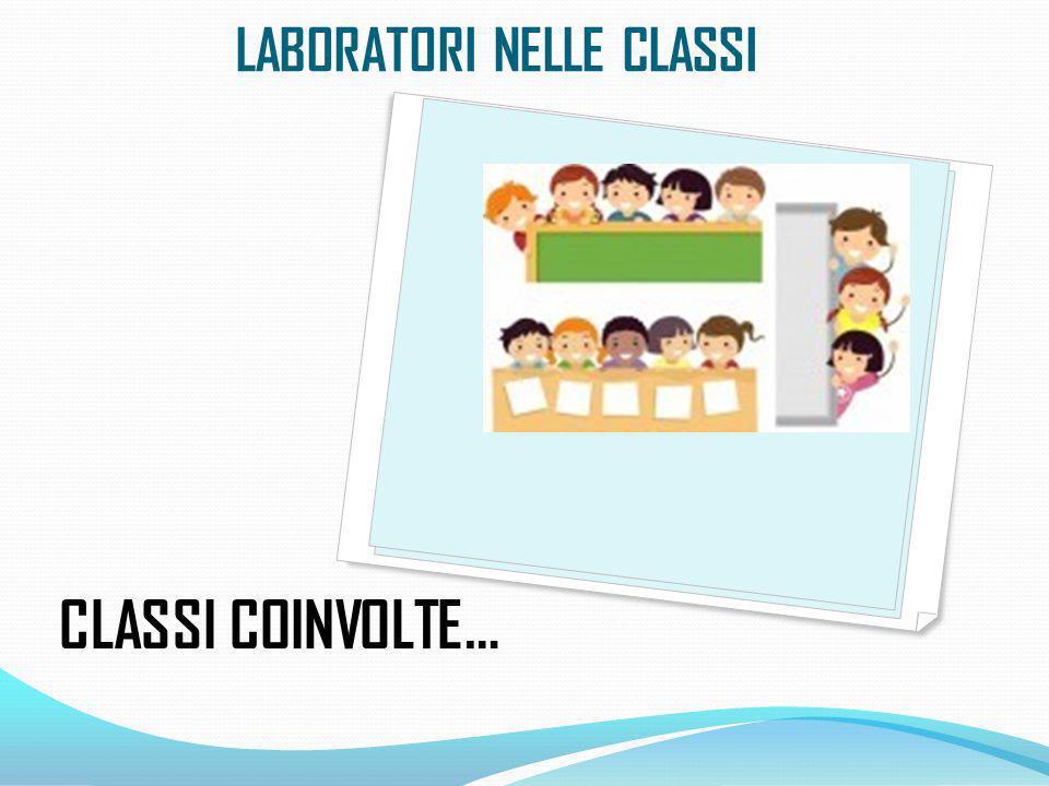 CLASSI COINVOLTE… LABORATORI NELLE CLASSI