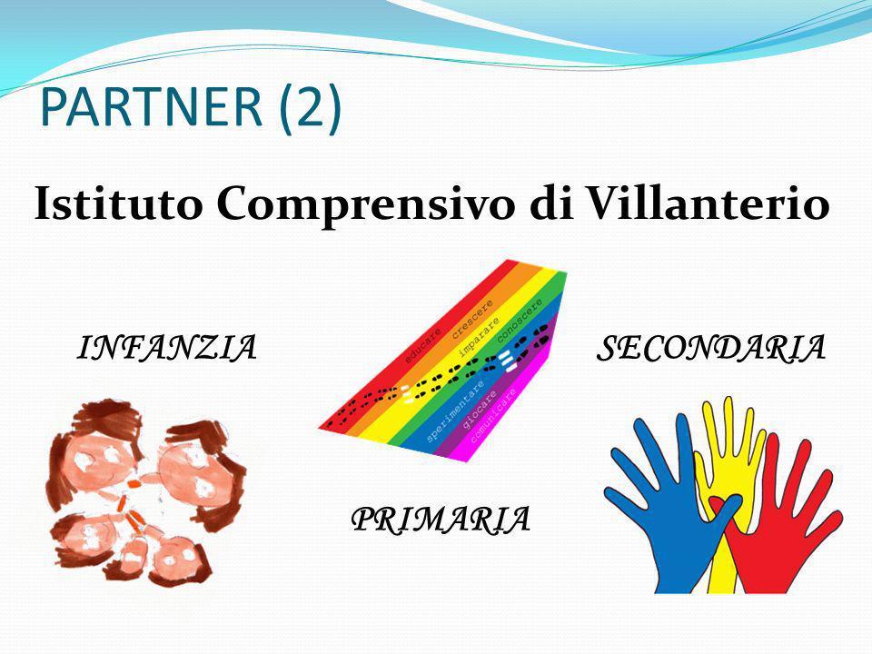 PARTNER (2) Istituto Comprensivo di Villanterio INFANZIA PRIMARIA SECONDARIA