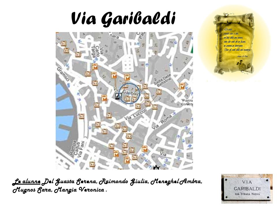 Le alunne Del Guasta Serena, Raimondo Giulia, Meneghel Ambra, Mugnos Sara, Mangia Veronica.