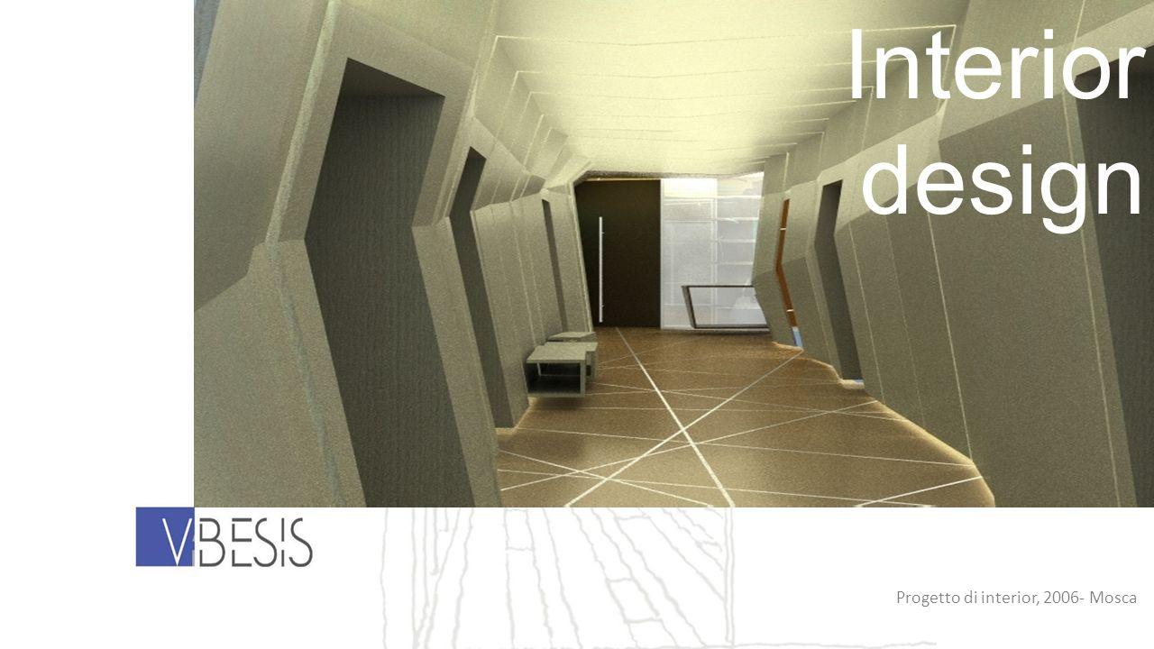 Progetto di interior, 2006- Mosca Interior design
