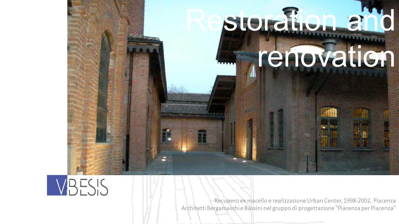 Recupero ex macello e realizzazione Urban Center, 1998-2002, Piacenza Architetti Bergamaschi e Bassini nel gruppo di progettazione