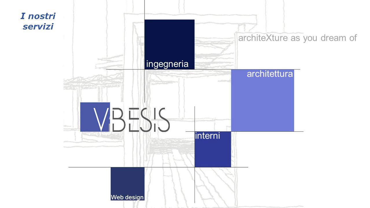 ingegneria architettura interni Web design architeXture as you dream of I nostri servizi