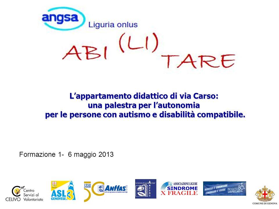 Lappartamento didattico di via Carso: una palestra per lautonomia per le persone con autismo e disabilità compatibile.