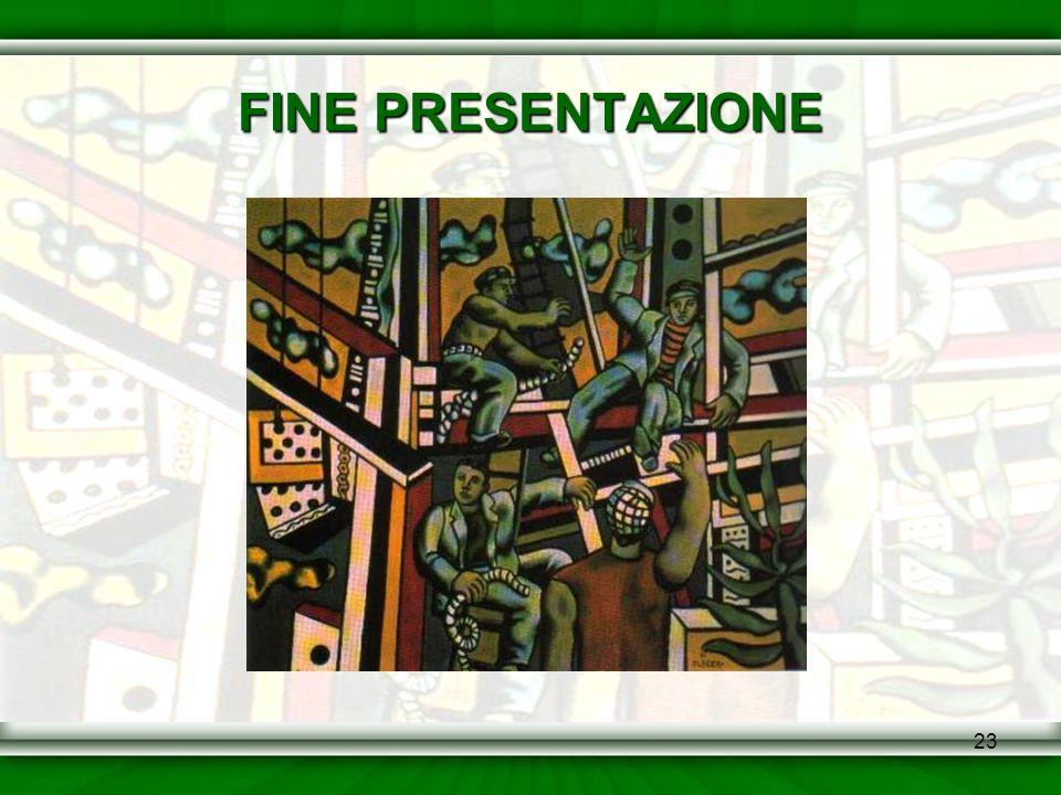 23 FINE PRESENTAZIONE