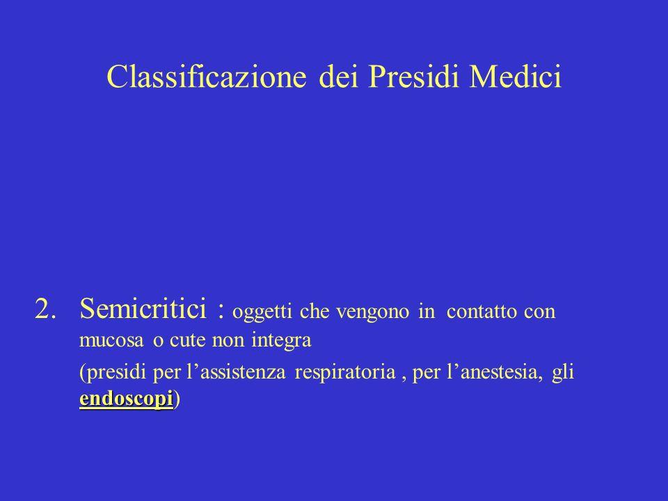 Classificazione dei Presidi Medici 3.