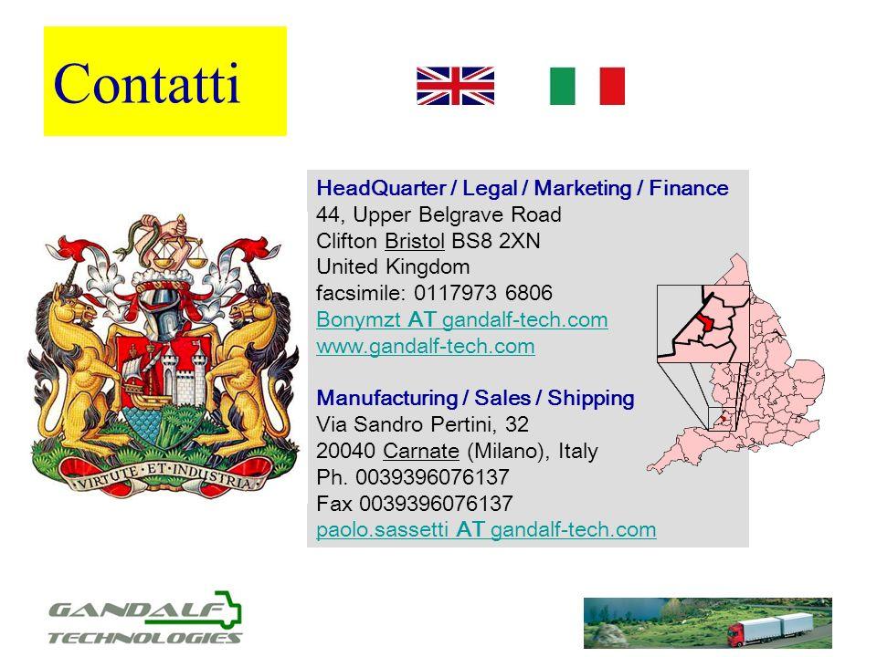 Contatti HeadQuarter / Legal / Marketing / Finance 44, Upper Belgrave Road Clifton Bristol BS8 2XN United Kingdom facsimile: 0117973 6806 Bonymzt AT g