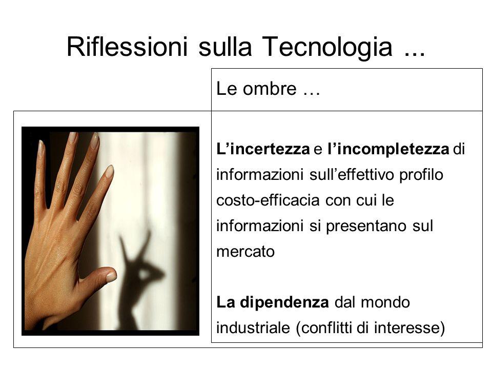 Linnovazione non è mai solo tecnologica, ma anche sempre organizzativa La rilevanza della strategia tecnologica (1)