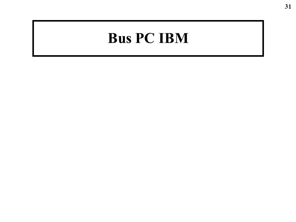 31 Bus PC IBM