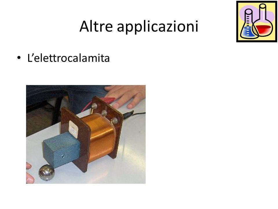 Altre applicazioni Lelettrocalamita