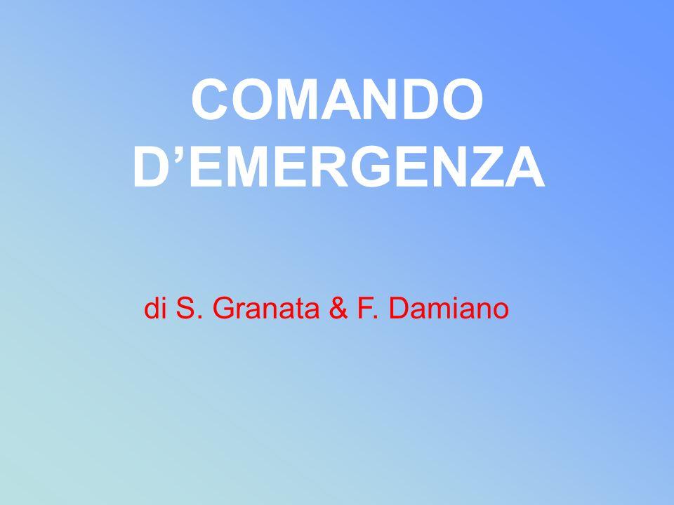 COMANDO DEMERGENZA di S. Granata & F. Damiano