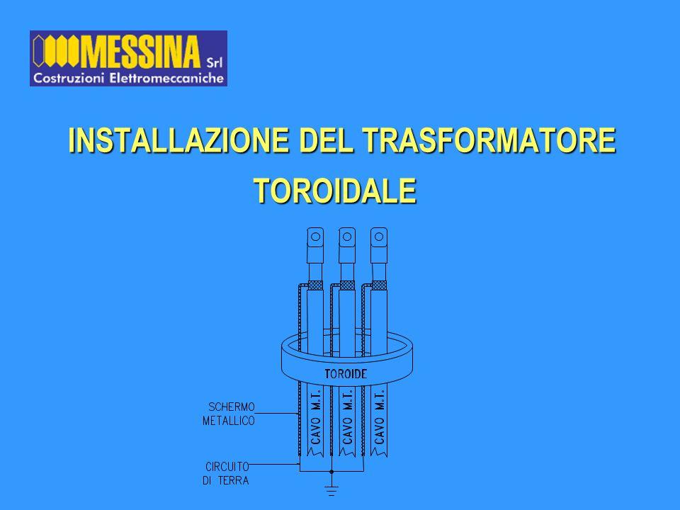 INSTALLAZIONE DEL TRASFORMATORE TOROIDALE TOROIDALE