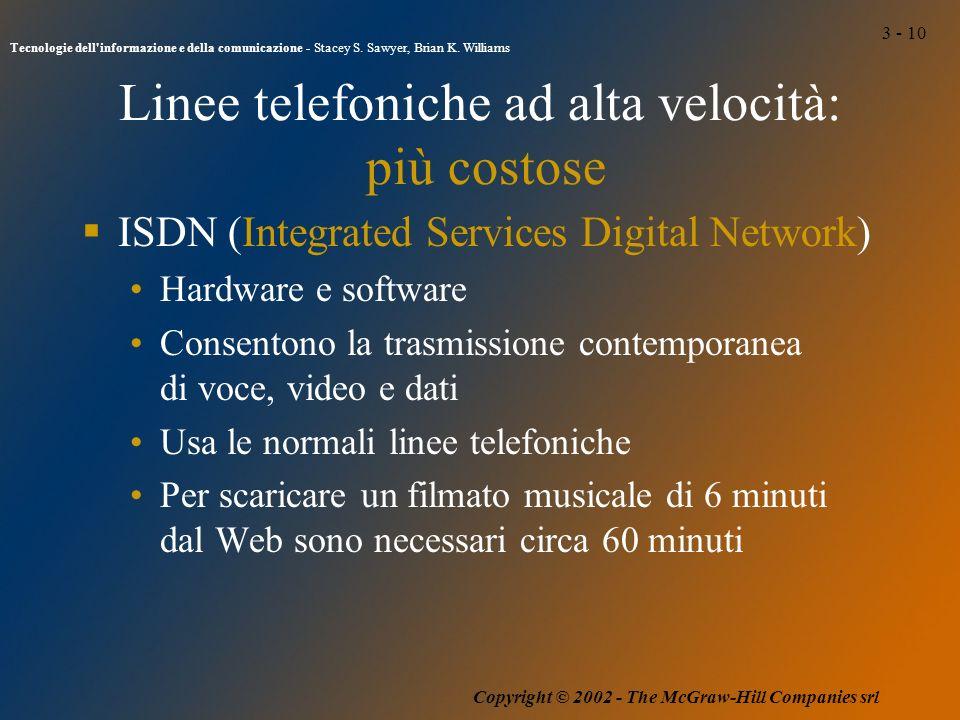 3 - 10 Tecnologie dell informazione e della comunicazione - Stacey S.