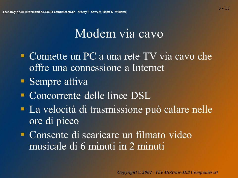 3 - 13 Tecnologie dell informazione e della comunicazione - Stacey S.