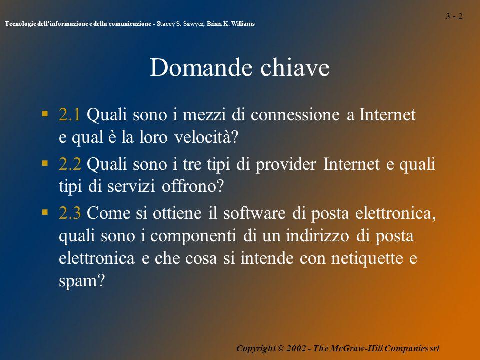 3 - 2 Tecnologie dell informazione e della comunicazione - Stacey S.