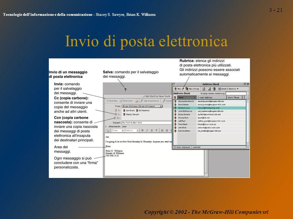 3 - 21 Tecnologie dell informazione e della comunicazione - Stacey S.