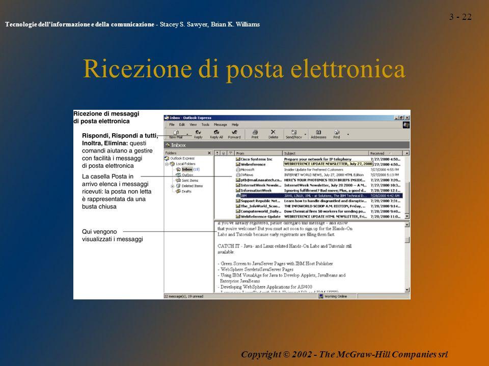 3 - 22 Tecnologie dell informazione e della comunicazione - Stacey S.
