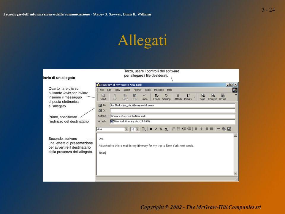 3 - 24 Tecnologie dell informazione e della comunicazione - Stacey S.