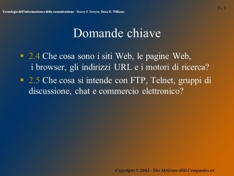 3 - 3 Tecnologie dell informazione e della comunicazione - Stacey S.