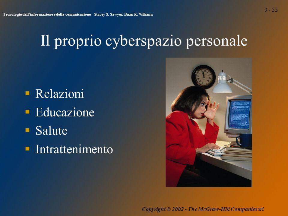 3 - 33 Tecnologie dell informazione e della comunicazione - Stacey S.