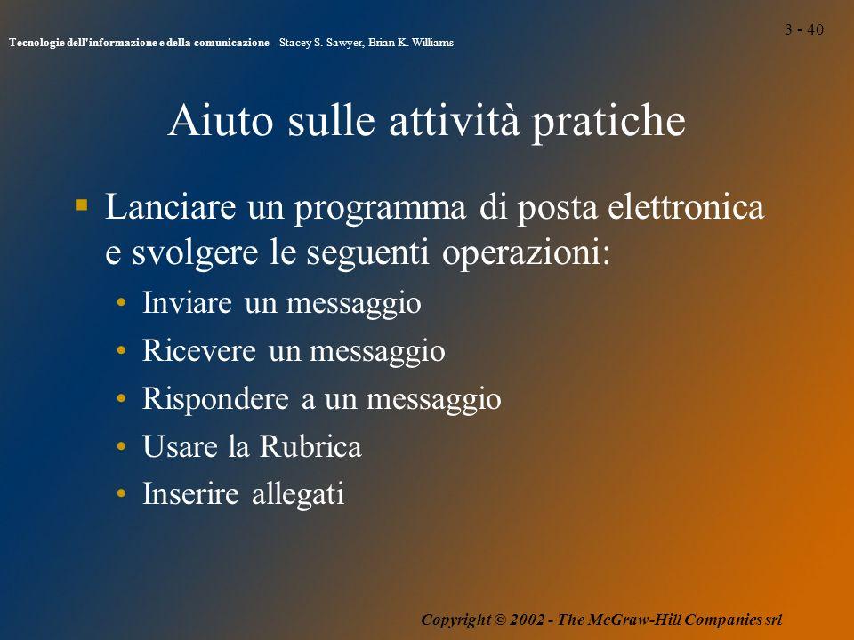 3 - 40 Tecnologie dell informazione e della comunicazione - Stacey S.