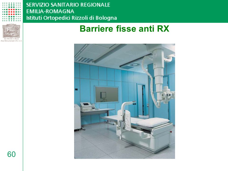 60 Barriere fisse anti RX