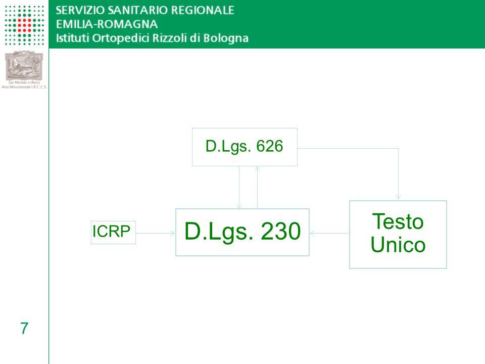 28 Tipologie dei DPI per operatori Come detto, nellallegato VIII del T.