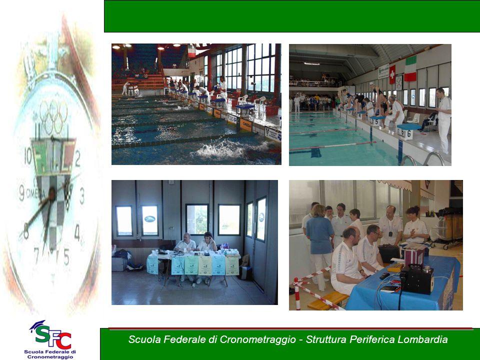 Corso Allievi cronometristi - nuoto A cura di Andrea Pederzoli Scuola Federale di Cronometraggio - Struttura Periferica Lombardia