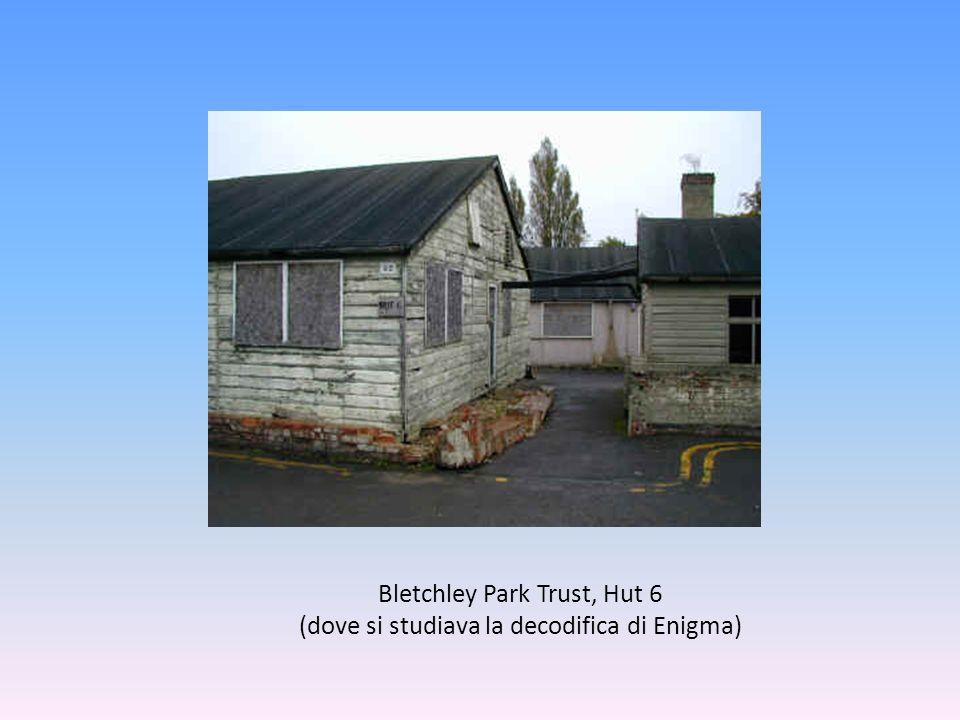 Bletchley Park Trust, Hut 6 (dove si studiava la decodifica di Enigma)