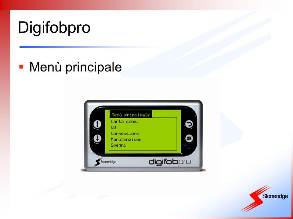 Digifobpro Visualizza file carta conducente ID carta autista Nome autista Data e ora ultima attività Questo simbolo indica Che il file è stato già archiviato Numero di file Presenti in memoria