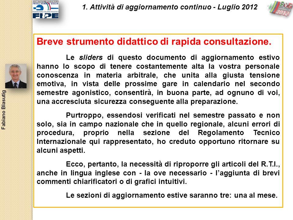 Breve strumento didattico di rapida consultazione.
