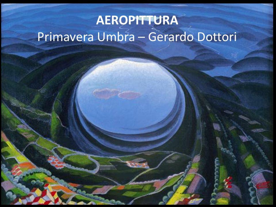 AEROPITTURA Primavera Umbra – Gerardo Dottori