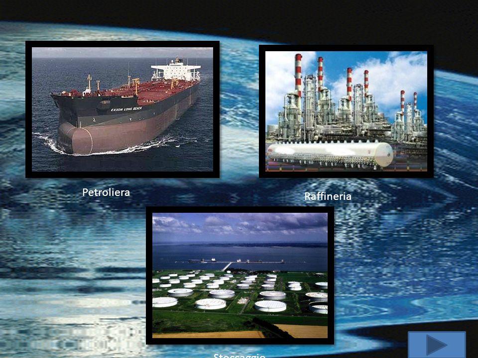Petroliera Raffineria Stoccaggio