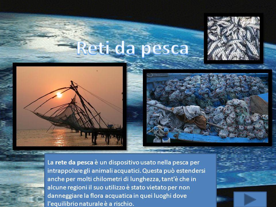 La rete da pesca è un dispositivo usato nella pesca per intrappolare gli animali acquatici. Questa può estendersi anche per molti chilometri di lunghe