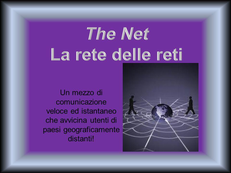 Un mezzo di comunicazione veloce ed istantaneo che avvicina utenti di paesi geograficamente distanti!
