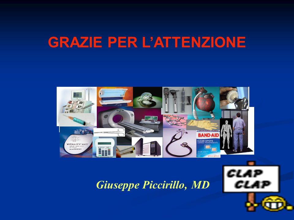 GRAZIE PER LATTENZIONE Giuseppe Piccirillo, MD