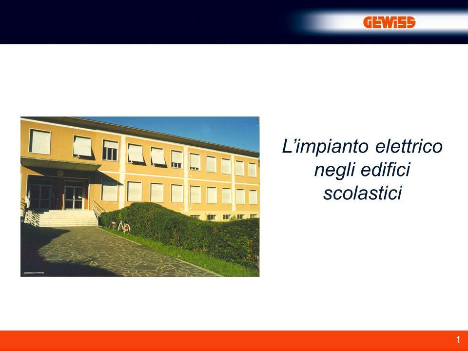 1 Limpianto elettrico negli edifici scolastici