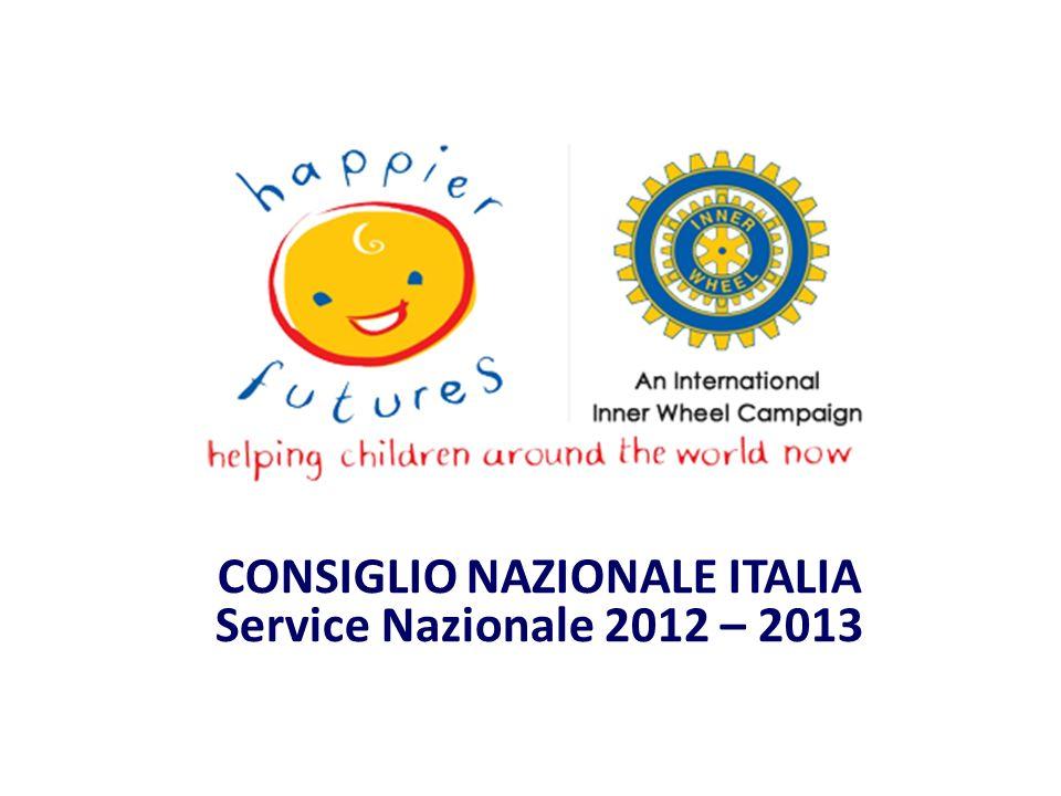 CONSIGLIO NAZIONALE ITALIA Service Nazionale 2012 – 2013