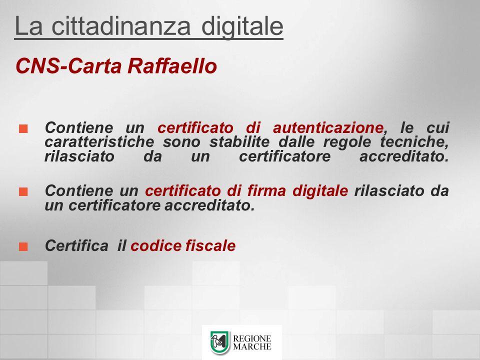 Contiene un certificato di autenticazione, le cui caratteristiche sono stabilite dalle regole tecniche, rilasciato da un certificatore accreditato. Co