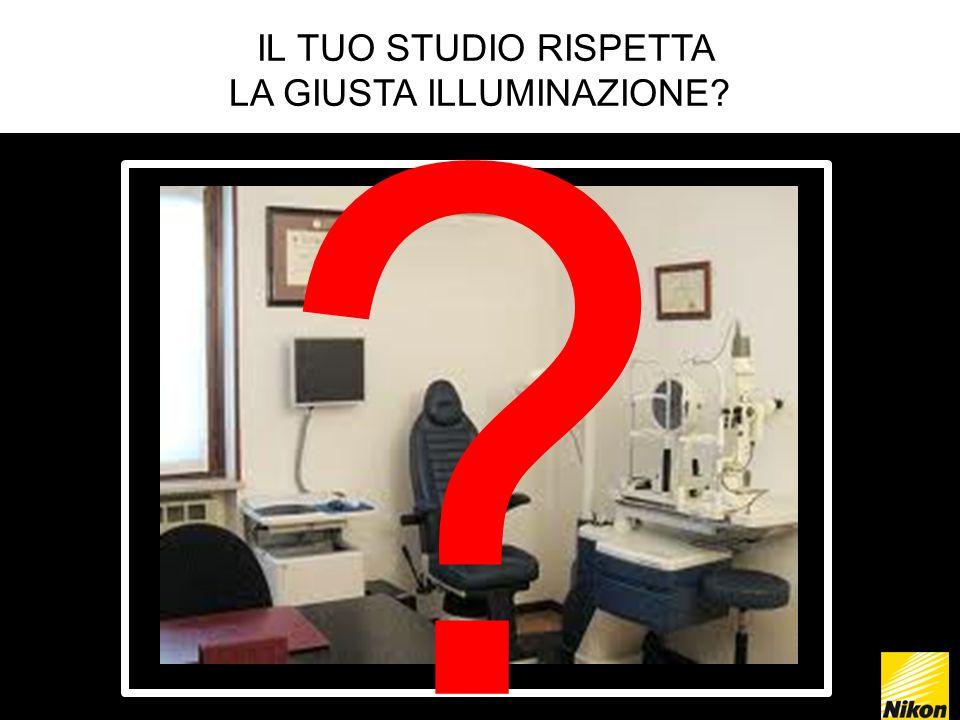 IL TUO STUDIO RISPETTA LA GIUSTA ILLUMINAZIONE? ?