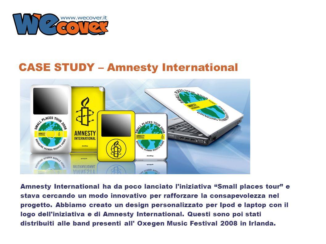 Amnesty International ha da poco lanciato l iniziativa Small places tour e stava cercando un modo innovativo per rafforzare la consapevolezza nel progetto.