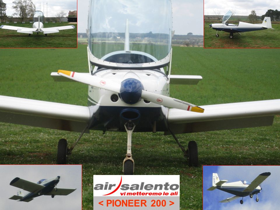 Air Salento volo training Sequenza 4 Atterraggio forzato (da CHECK LIST EMERGENZE – Pioneer 200)