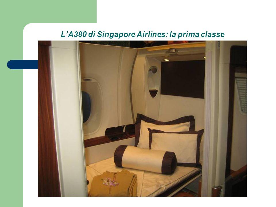 LA380 di Singapore Airlines: la prima classe
