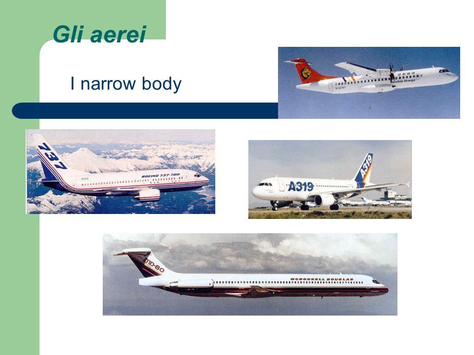 Gli aerei I narrow body
