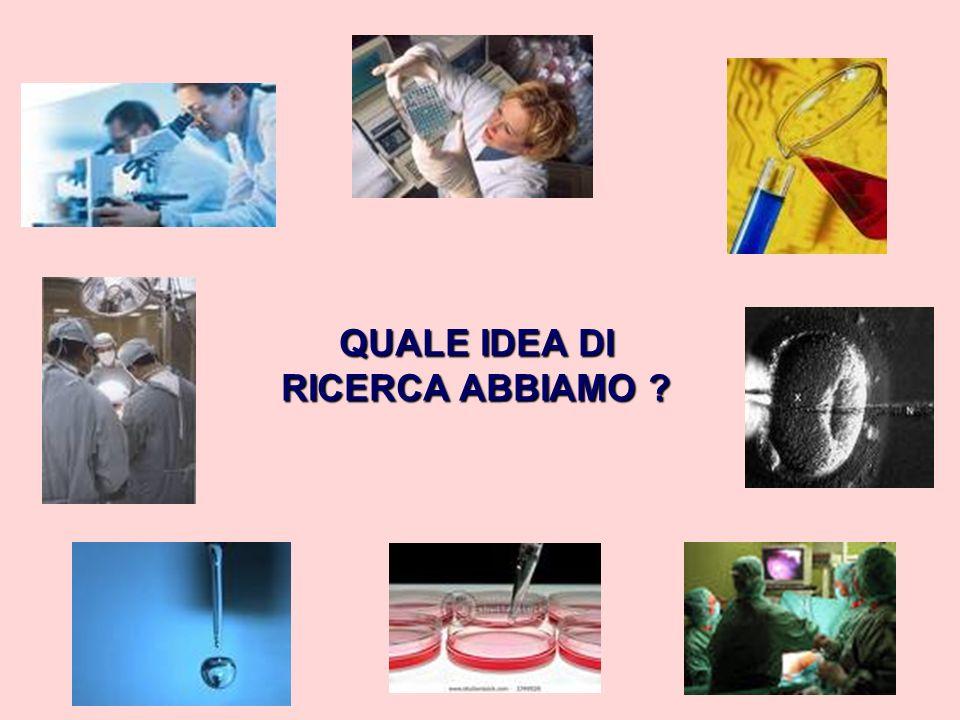 Il dizionario Garzanti della lingua italiana riporta come significati dei termini … ricerca ricerca: indagine sistematica volta ad accrescere le cognizioni che si posseggono in una disciplina.