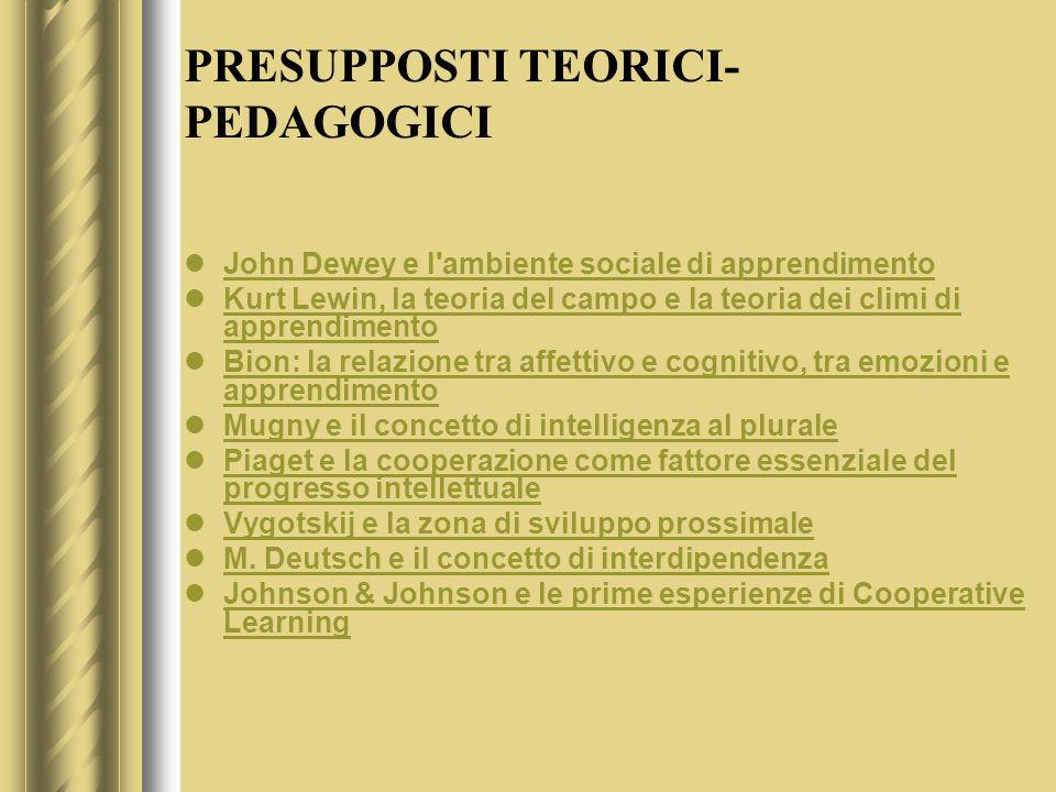 UNA DIDATTICA DI TIPO LABORATORIALE PERMETTE DI……..