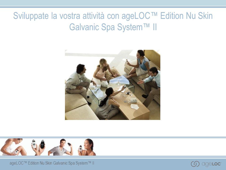 ageLOC Edition Nu Skin Galvanic Spa System II Sviluppate la vostra attività con ageLOC Edition Nu Skin Galvanic Spa System II