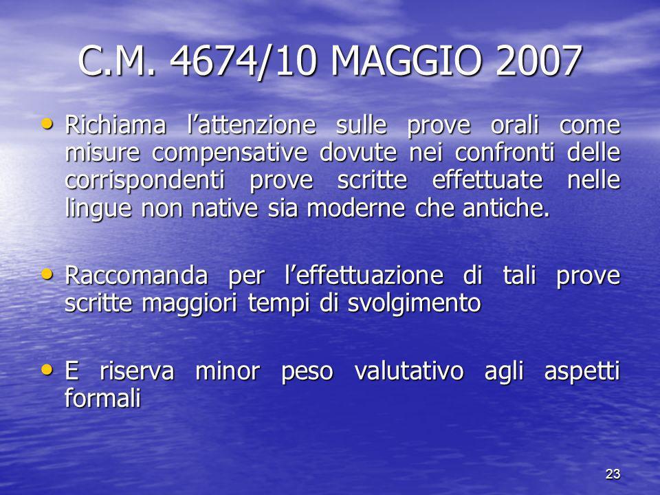 23 C.M.