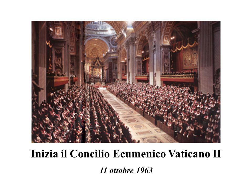 Inizia il Concilio Ecumenico Vaticano II 11 ottobre 1963