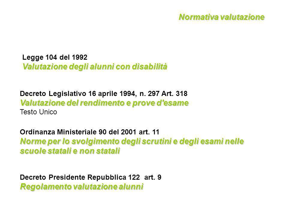 Decreto Presidente Repubblica 122 art.
