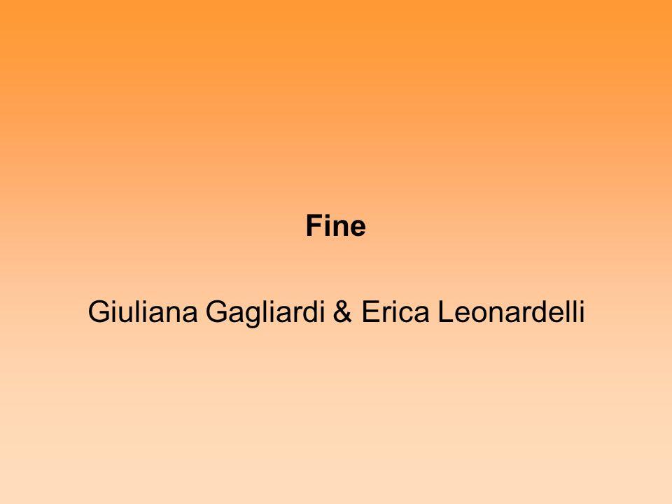 Fine Giuliana Gagliardi & Erica Leonardelli